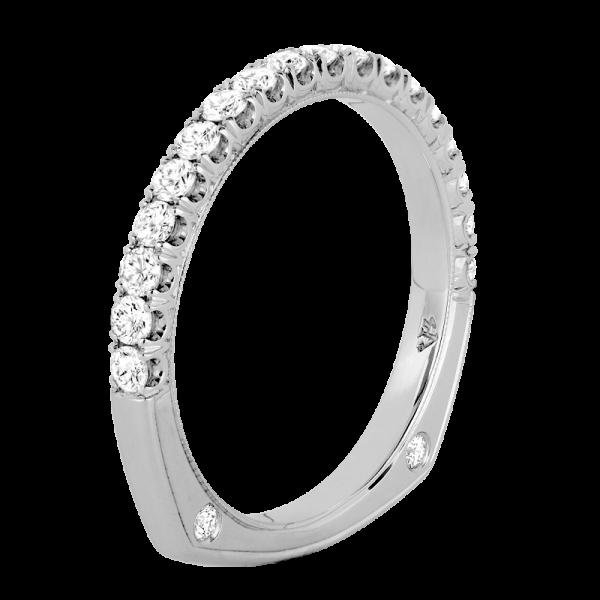 Jack Kelége euro shank diamond wedding band - KGBD1051BD